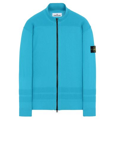 STONE ISLAND 531B4 Sweater Man Turquoise USD 376