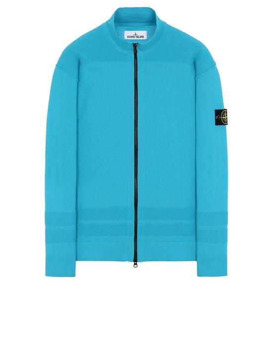 STONE ISLAND 531B4 Sweater Man Turquoise