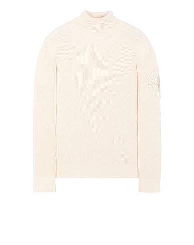 STONE ISLAND 534B1 Sweater Man Ivory USD 309