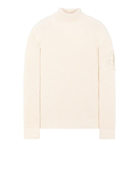 STONE ISLAND 534B1 Sweater Man Ivory