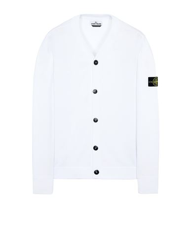 STONE ISLAND 505B2 Sweater Man White USD 376