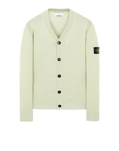 STONE ISLAND 505B2 Sweater Man Light Green EUR 319