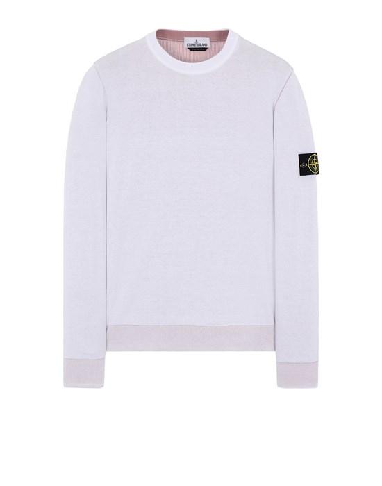 STONE ISLAND 522B5 REVERSIBLE  KNIT Sweater Man White