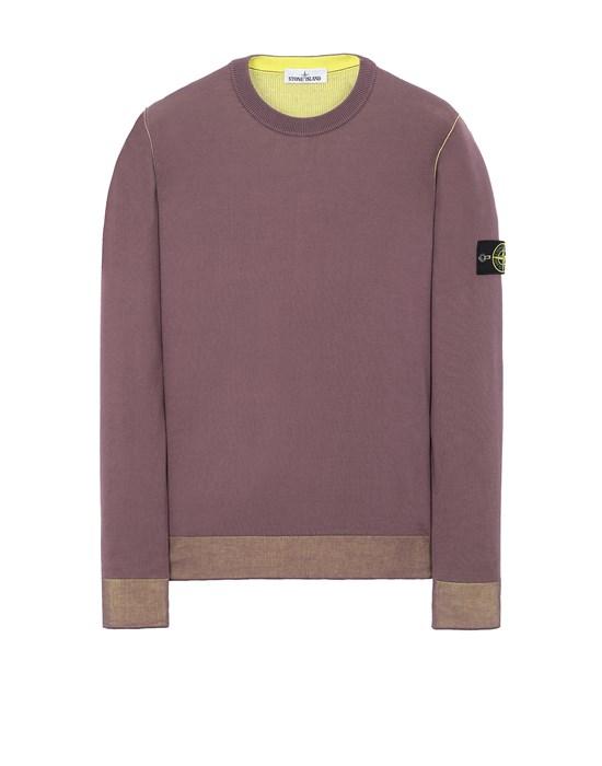 STONE ISLAND 522B5 REVERSIBLE  KNIT Sweater Man Dark Burgundy