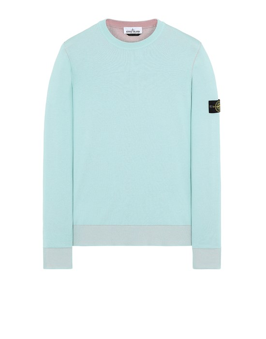 Sweater Man 522B5 REVERSIBLE KNIT Front STONE ISLAND