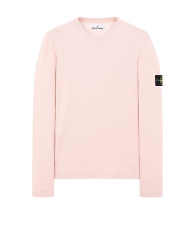 STONE ISLAND 532B9 Sweater Man Pastel pink USD 227