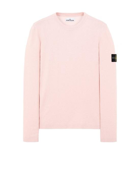 STONE ISLAND 532B9 Sweater Man Pastel pink