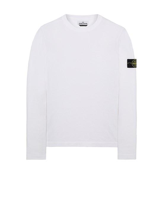 STONE ISLAND 532B9 Sweater Man White