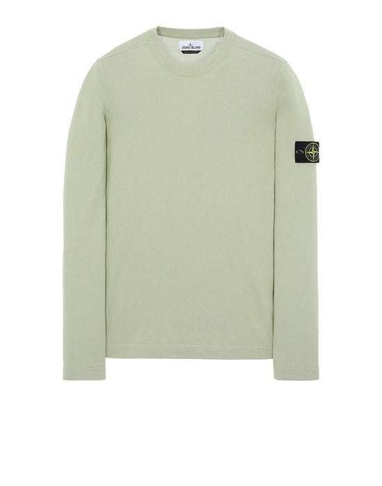 STONE ISLAND 532B9 Sweater Man Light Green