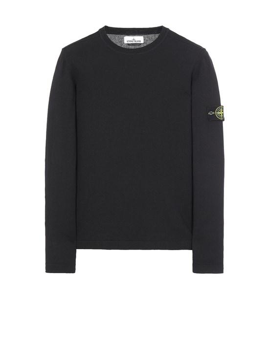 STONE ISLAND 532B9 Sweater Herr Blau