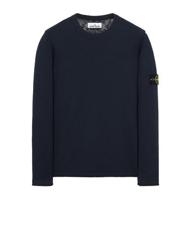STONE ISLAND 502B0 Sweater Man Blue EUR 167
