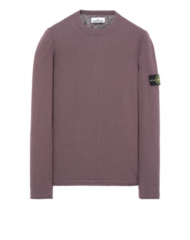 STONE ISLAND 502B0 Sweater Man Dark Burgundy EUR 239