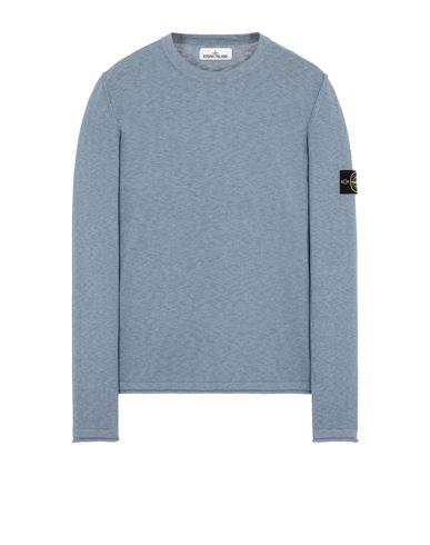 STONE ISLAND 502B0 Sweater Man Mid Blue USD 357