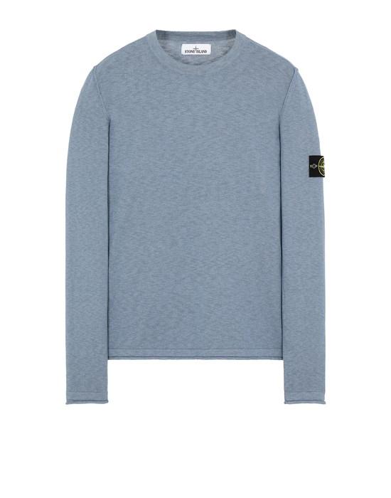 STONE ISLAND 502B0 Sweater Man Mid Blue