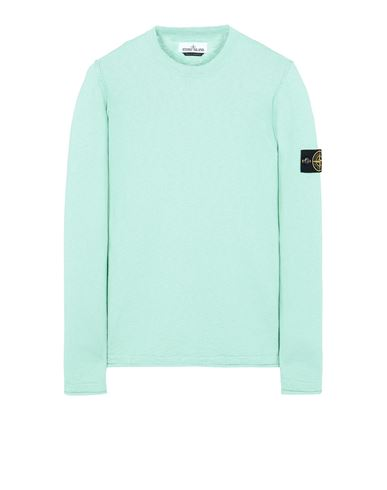 STONE ISLAND 502B0 Sweater Man Aqua USD 250