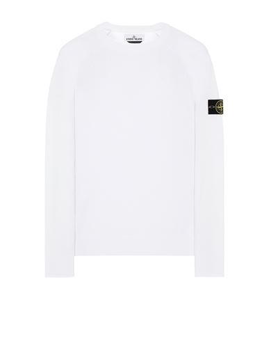 STONE ISLAND 511B9 Sweater Man White EUR 239