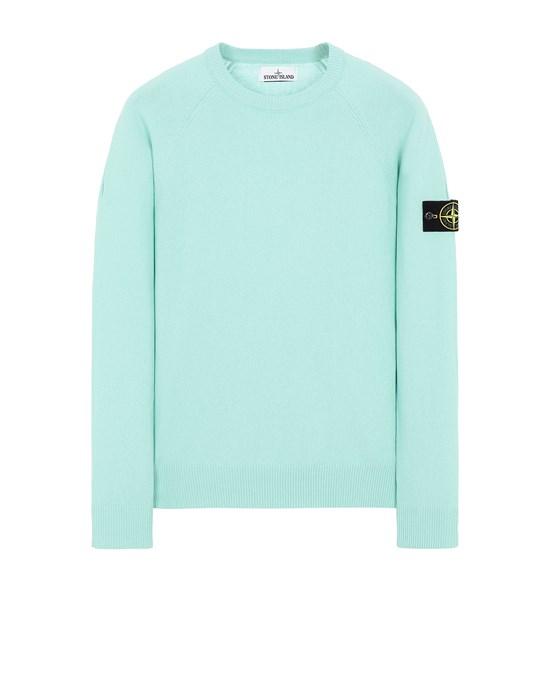 STONE ISLAND 511B9 Sweater Man Aqua