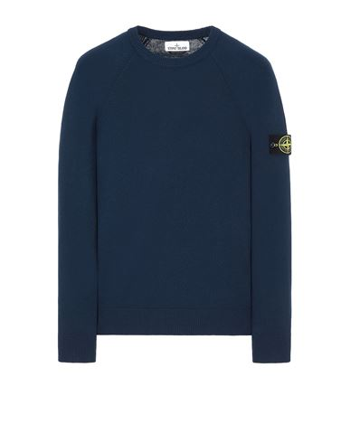 STONE ISLAND 511B9 Sweater Man Marine Blue USD 250