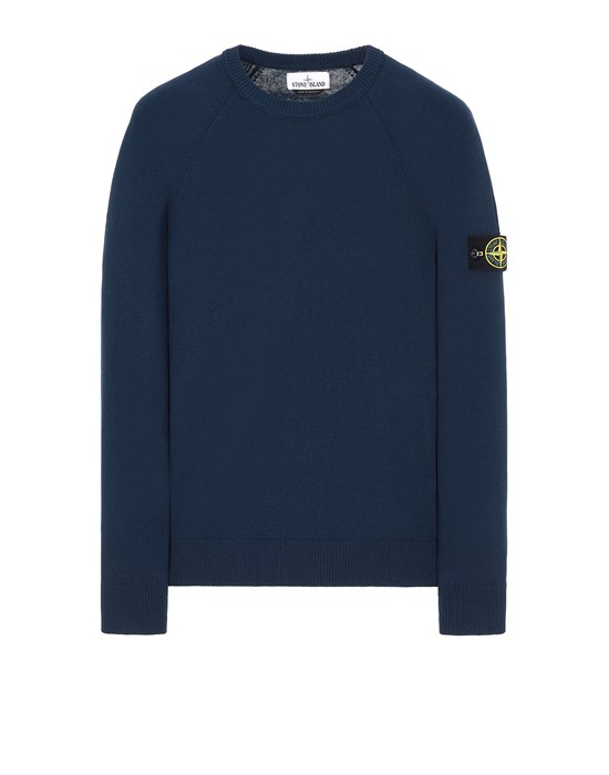 STONE ISLAND 511B9 Sweater Man Marine Blue