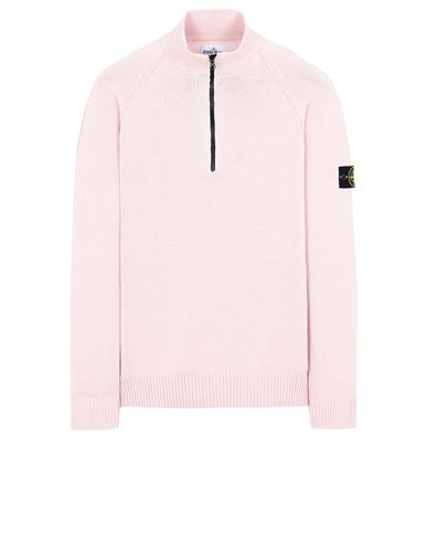 STONE ISLAND 510B9 Sweater Man Pastel pink USD 397