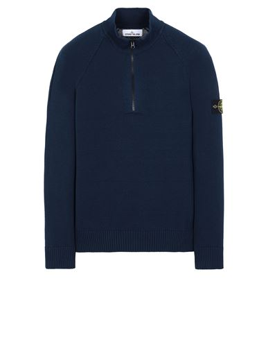 STONE ISLAND 510B9 Sweater Man Marine Blue USD 310