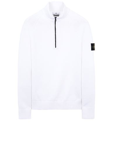 STONE ISLAND 510B9 Sweater Man White EUR 269