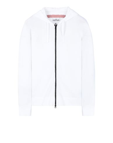STONE ISLAND 535D1 Sweater Man White EUR 431
