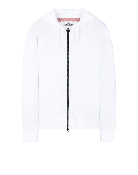 STONE ISLAND 535D1 Sweater Man White