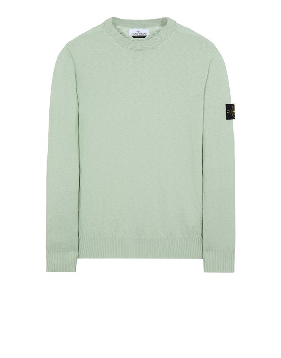 STONE ISLAND 524B0 Sweater Man Light Green