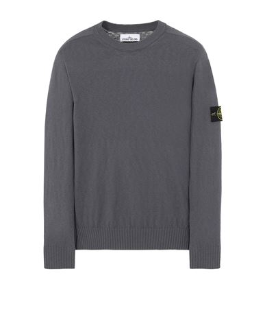 STONE ISLAND 524B0 Sweater Man Blue Grey EUR 239
