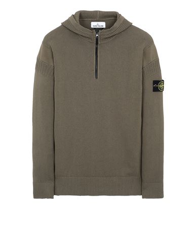 STONE ISLAND 530B6 Sweater Man Olive Green EUR 349