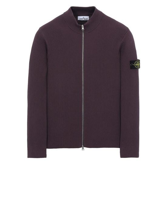 STONE ISLAND 549D8 Sweater Man Dark Burgundy