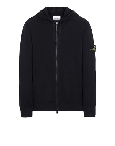 STONE ISLAND 523B0 Sweater Man Black EUR 325
