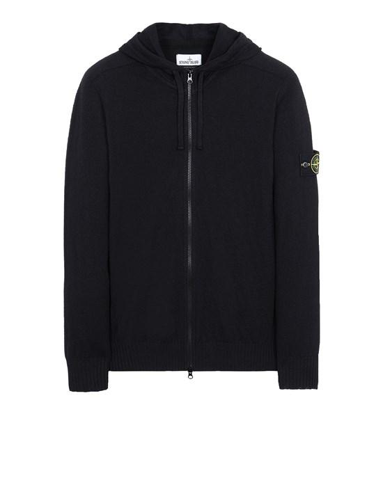 STONE ISLAND 523B0 Sweater Man Black