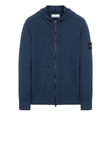 STONE ISLAND 523B0 Sweater Man Avio Blue EUR 325