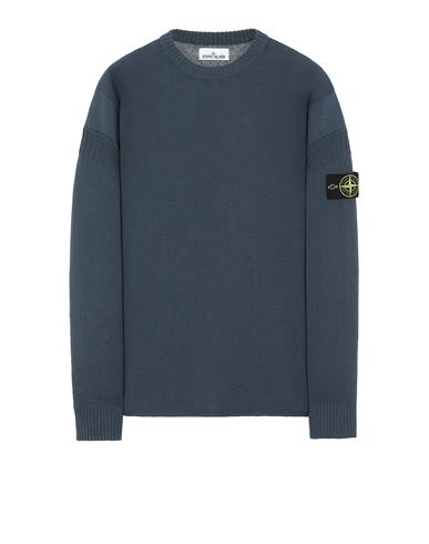 STONE ISLAND 509B6 Sweater Man Avio Blue USD 329