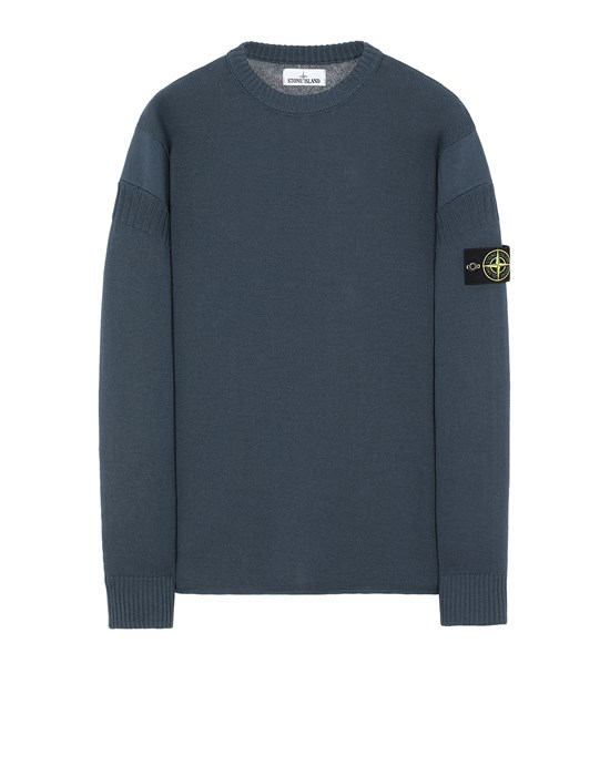STONE ISLAND 509B6 Sweater Man Avio Blue