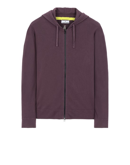 STONE ISLAND 535D1 Sweater Man Dark Burgundy
