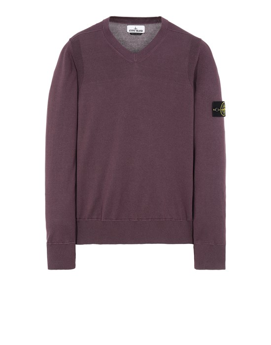 STONE ISLAND 533B2 Sweater Man Dark Burgundy
