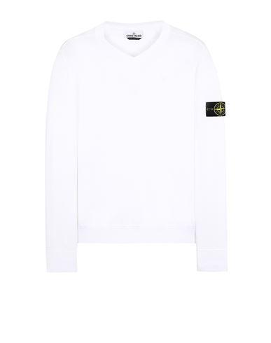 STONE ISLAND 533B2 Sweater Man White EUR 141