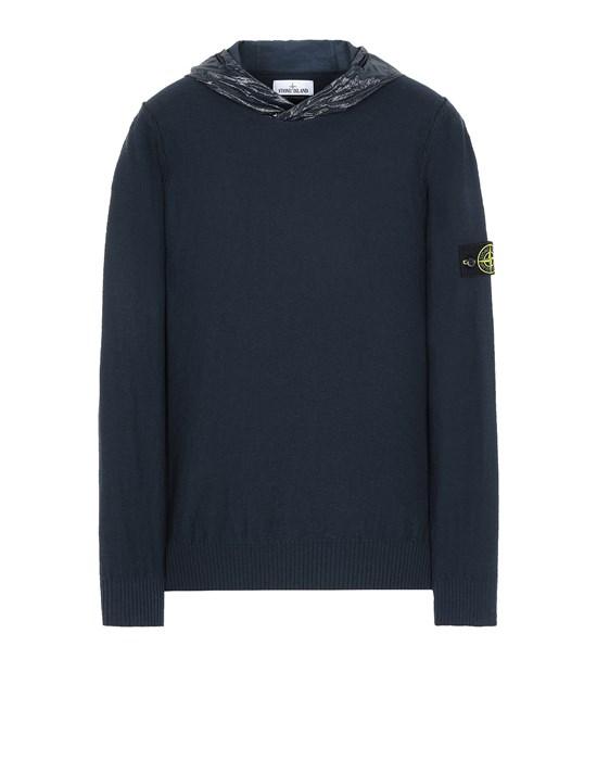 STONE ISLAND 545B0 Sweater Man Blue