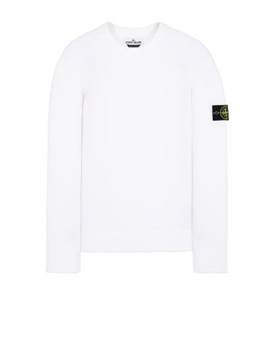 STONE ISLAND 550D2 Sweater Man White USD 371