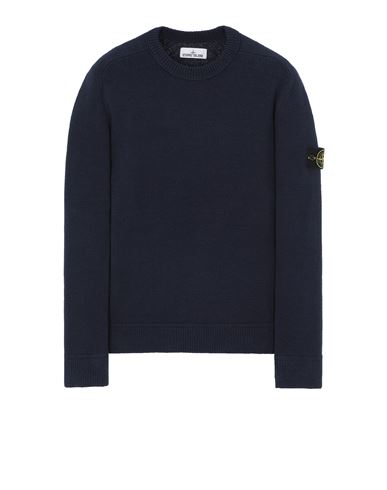 STONE ISLAND 550D2 Sweater Man Avio Blue USD 417
