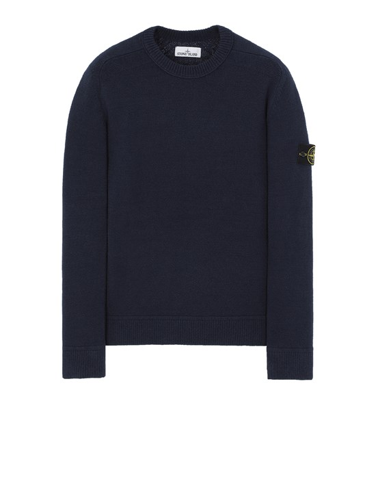 STONE ISLAND 550D2 Sweater Man Avio Blue