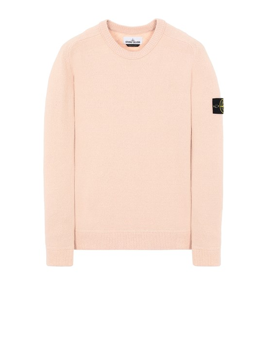 STONE ISLAND 550D2 Sweater Man Pastel pink
