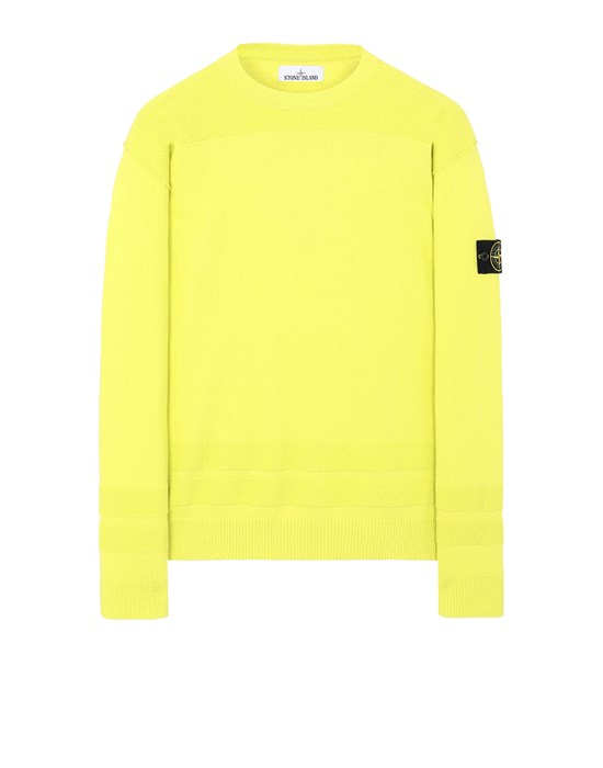STONE ISLAND 503B4 Sweater Man Pistachio Green