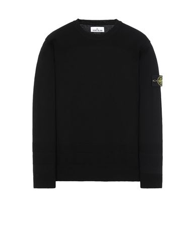 STONE ISLAND 503B4 Sweater Man Black EUR 271