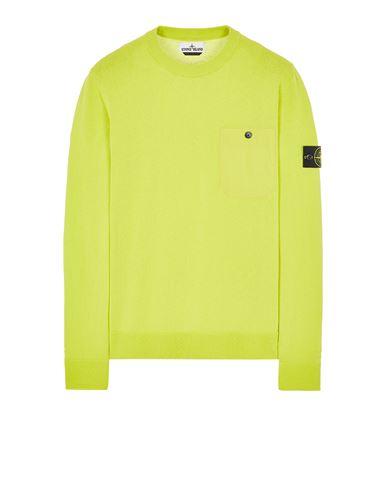 STONE ISLAND 571B9 Sweater Man Pistachio Green EUR 174