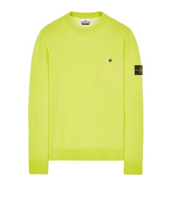 STONE ISLAND 571B9 Sweater Man Pistachio Green