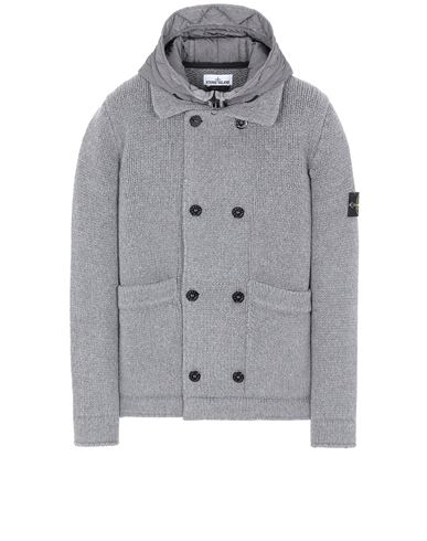 STONE ISLAND 557B8 Sweater Man Gray EUR 689
